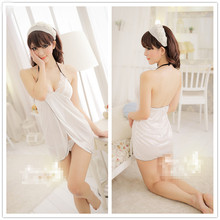 New Baby Doll Camisola Sexy Lingerie Women Hot Sleepshirt Cotton Night Wear Silk Nightdress Nightgown