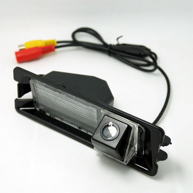 CCD Backup Câmera de Visão Traseira Do Carro Para Nissan March/Micra/Renault Pulso # FD-4556