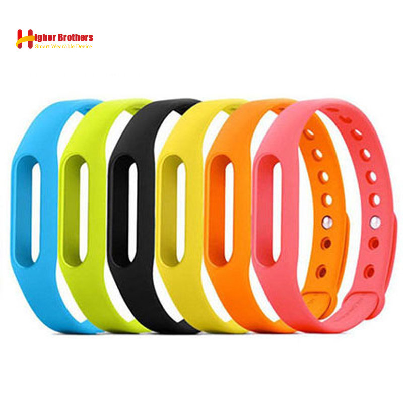 Hot Sale Xiaomi Mi Band 1 Strap Mi Band 1s Bracelet Mi Band 1s Strap Mi Band Bracelet Xiaomi Miband 1 Strap Replacement tpu band with white round dot for xiaomi miband 1s