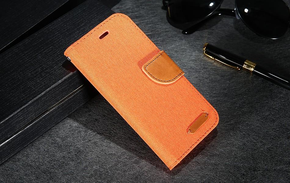 Kisscase stań portfel przerzuć przypadki dla iphone 6 6s 7 5 5S mody hit kolor slot kart skóra pokrywa dla iphone 7 6 s plus z logo 12