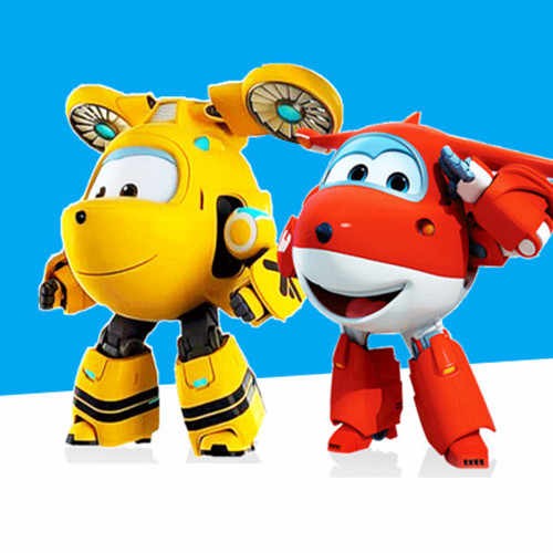NEW!!!15cm ABS Super Wings Deformation Airplane Robot Action Figures Super Wing Transformation toys for children gift Brinquedos