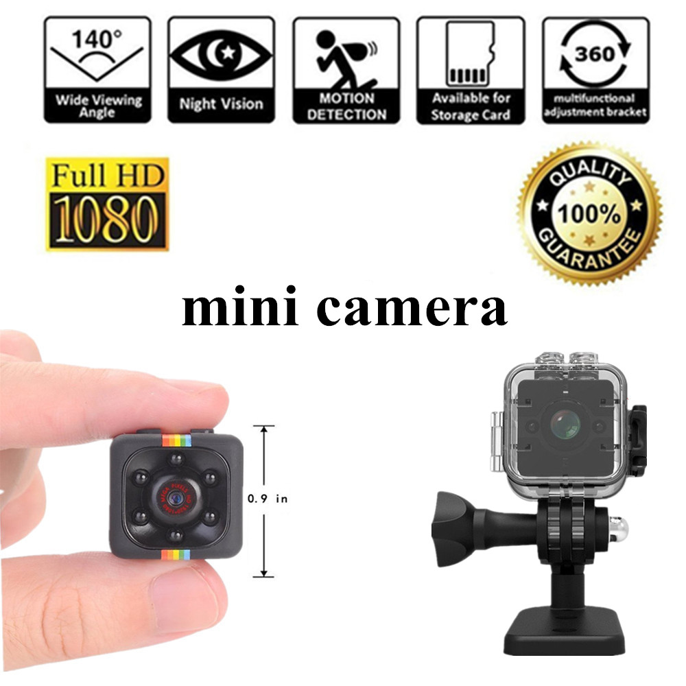 SQ11 1080P Full HD Micro Cam Motion Detection Camcorder Infrared Night Vision Video Recorder Wide Angle Mini Camera sq12 SQ 11
