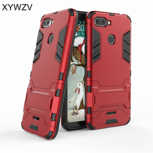 For Cover Xiaomi Redmi 6 Case Luxury Armor Robot Silicone Phone Back Shell Fundas