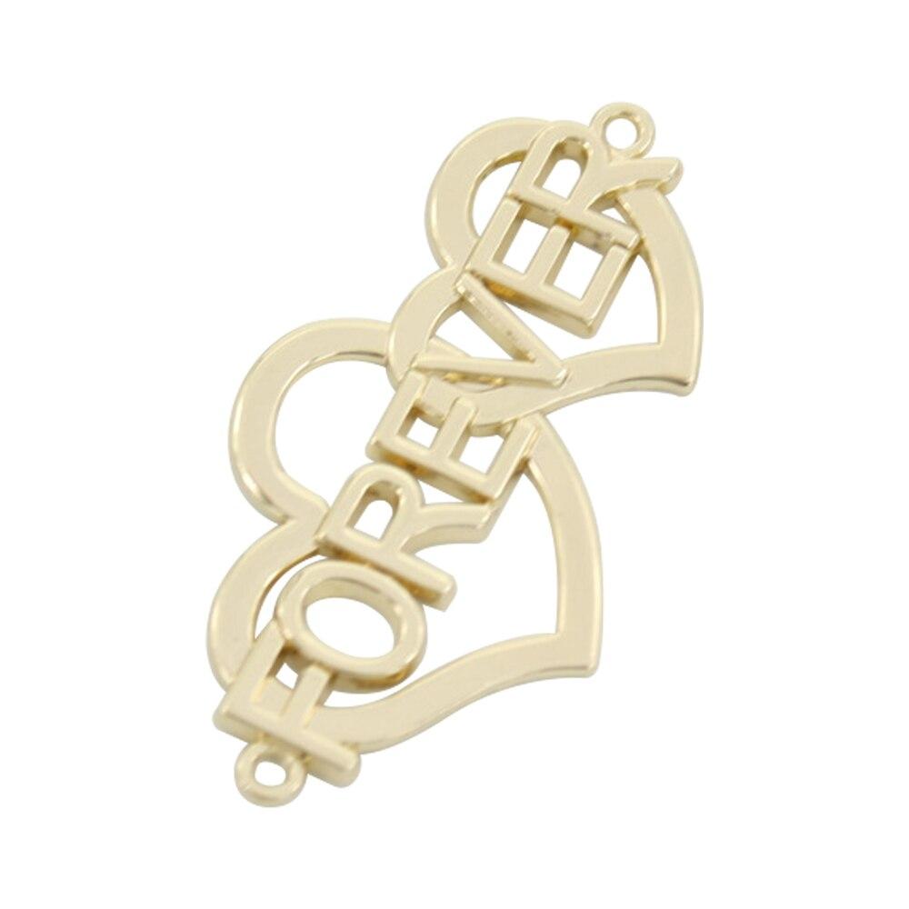 Dostosowane metalowe matki do odzieży metalowe marki znacznik logo na ubrania tagi patchwork acessórios niestandardowe metalowe logo etykiety w Metki odzieżowe od Dom i ogród na  Grupa 1