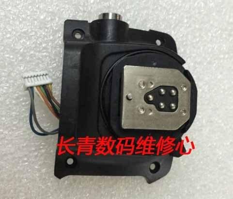 Подержанные Оригинальная горячий башмак; Flash Базы; Вспышка Горячий Башмак База Замена Ремонт Части для Canon 580EX II; 580EX-2 flash