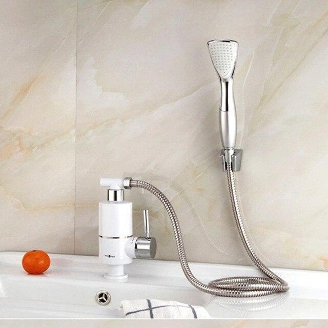 Rubinetto della doccia scaldabagno elettrico senza serbatoio ...