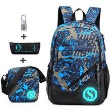 Waterproof oxford fabric boys school bags backpack for teena