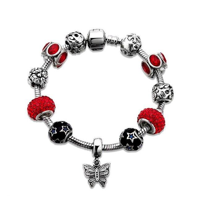 Hot Football Flower Heart Bracelet Femme Armband Fancy Diy Custom Engraved Bangle Bracelets For Women