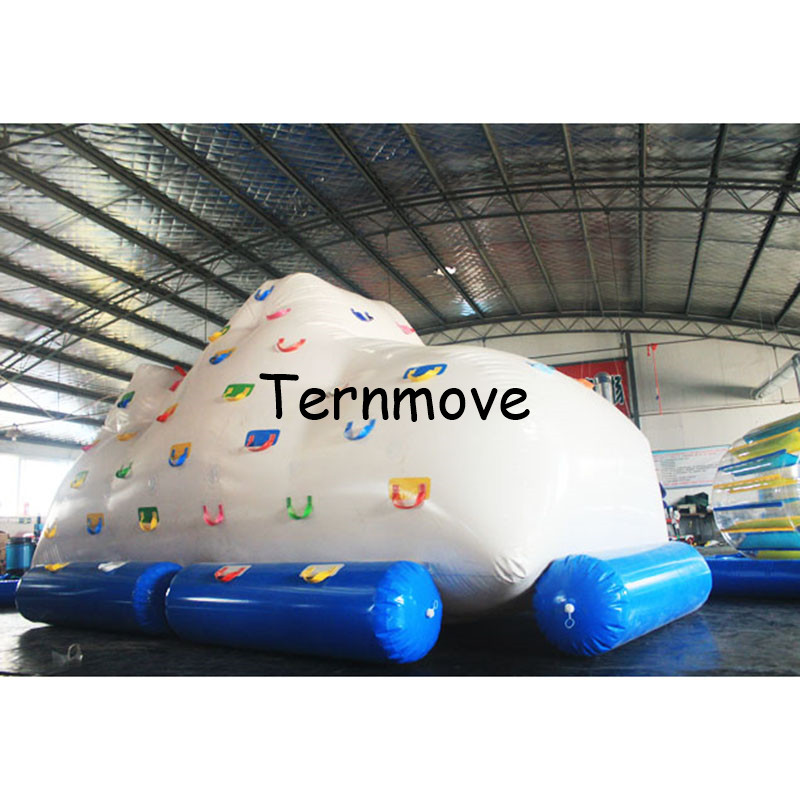PVC inflatable water climbing mountain for adult customized size inflatable iceberg sea ocean water play gamesPVC inflatable water climbing mountain for adult customized size inflatable iceberg sea ocean water play games
