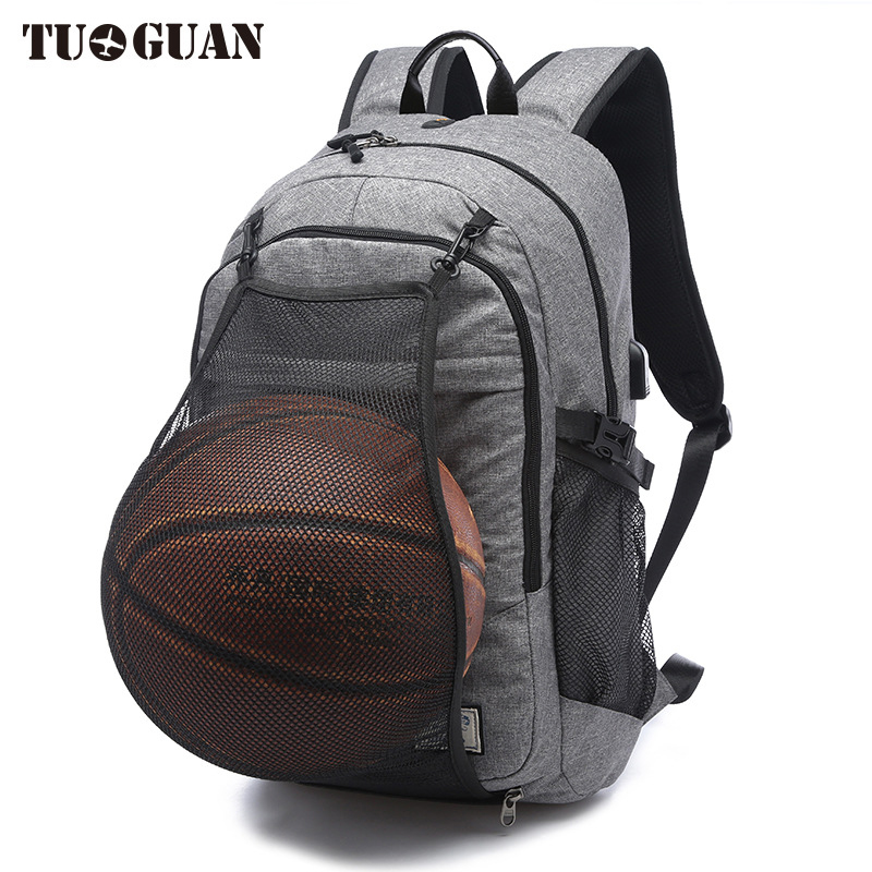 Tuguan Fashion Mesh Pocket Men Backpacks School College Student Back Pack Laptop Bookbag Bag For Agers Casual Travel Bagpack In From Luggage