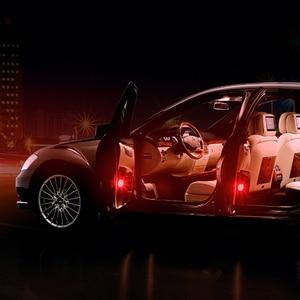 Image 3 - 2Pcs/4Pcs Universal wireless Magnetic 5 LED Warning Light waterproof strobe Car door opening Anti collision security Flash lamps