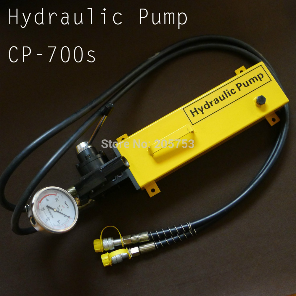 Double Acting Hand Pump High Pressure Hydraulic Pump CP 700S For Hydraulic Tool
