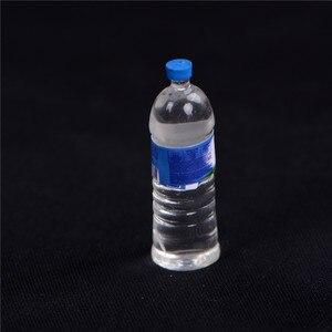 Image 5 - Кукольная еда в масштабе 1:6, 4 шт., Миниатюрная игрушка для кукольного домика с минеральной водой, аксессуары для кухни, гостиной, ролевые игрушки, подарок для детей