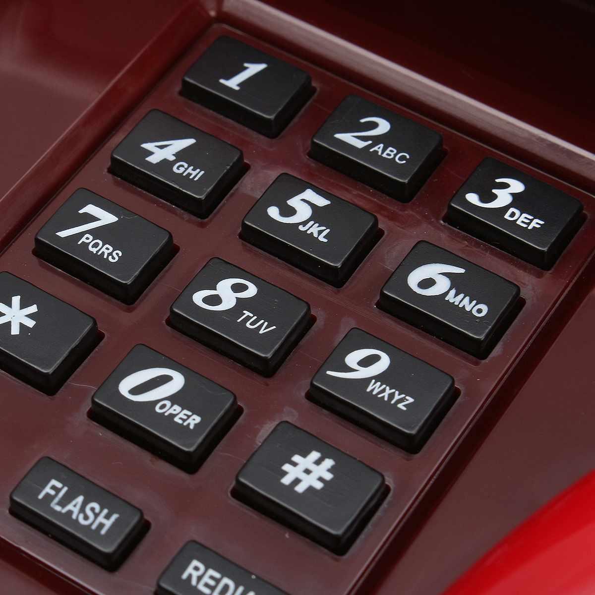 Красные губы стационарный громкий рот мини-телефон Ретро забавная Новинка проводной телефон для дома стационарный телефон спальня для чтения