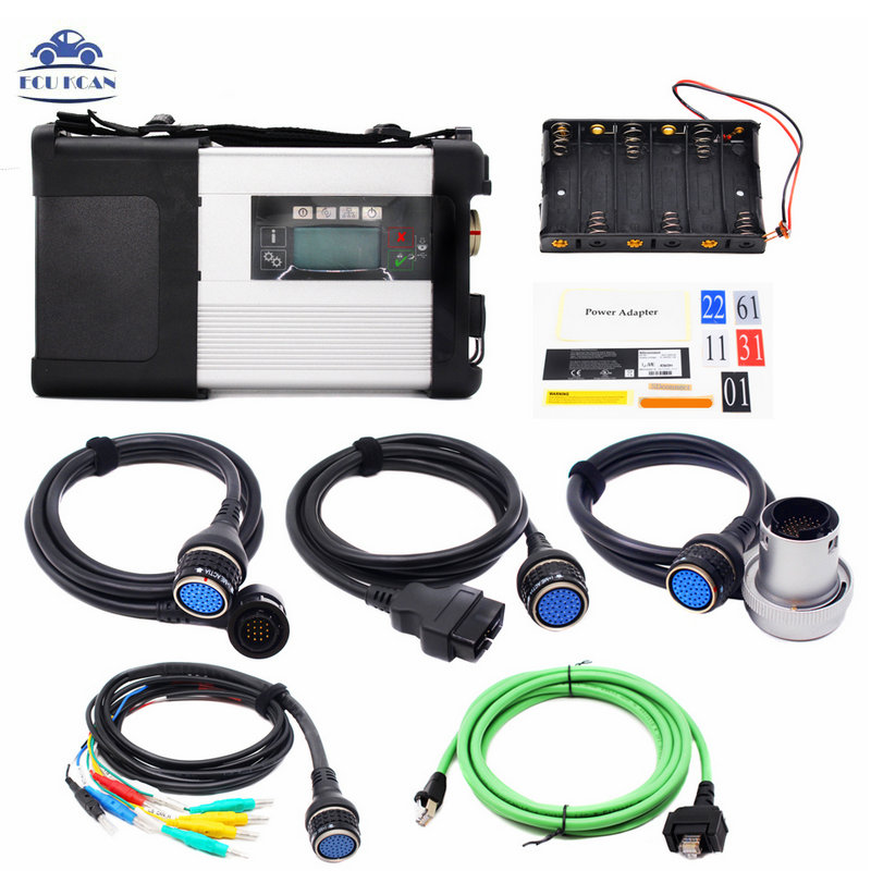 Full-Set Diagnostic-Cable Hdd Software Sd Connect Mb Star OBDII with 03 Star-Finder/sd-Media-Car title=