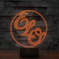 7 Colors Changing Creative Music Modelling Night Light 3D Led Visual Usb Table Desk Lamp Kids