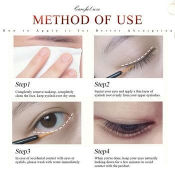 Eye Lashes Growth Eyelash Growth Enhancer Serum Eyebrow Eyelash Growth Treatment Lash Curly Thicker and Longer Makeup Mascara 3