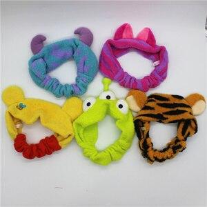 Image 1 - 1 sztuka Sullivan sulley Cheshiree Cat Alien pluszowe lalki, zabawkowe pluszowe tygrysy dla dorosłych głowy wypchana lalka