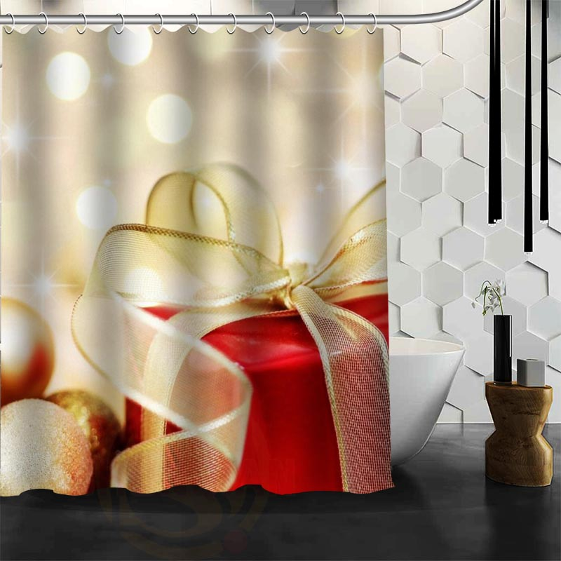 Happy New Year Merry Christmas gift Monroe Shower Curtain Polyester Fabric More Size Customized Bathroom Shower Curtains