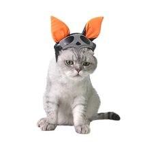 Urijk 1 unid gatito divertido fiesta de Halloween para mascotas accesorios  Cosplay lindo palo plegable sombrero 93cb341770b