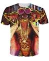 T-camisa de La Raya el gremlin Gremlin líder de la primera tanda 3d de impresión unisex verano tops tee mujeres de los hombres Del O-cuello Camiseta camisas