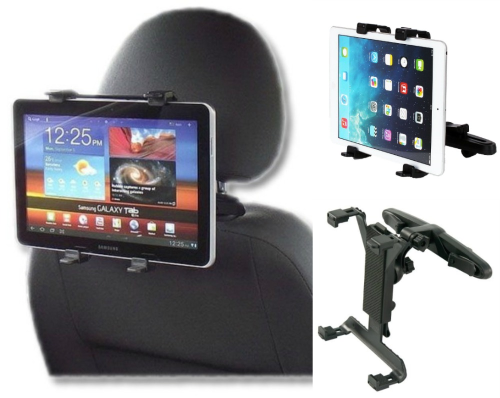 Universal Tablet Holder for Apple IPAD 2 3 4 AIR Air2 Car Back Seat Bracket Stand 7-10 Inch Tablets Support ipad car holder for seat back