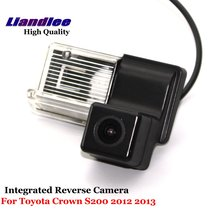 Liandlee For Toyota Crown S200 2012 2013 Car Reverse Parking Camera Backup Rear View Camera / SONY HD CCD Integrated Nigh Vision mgoodoo new rear view backup camera parking assist camera 86790b1100 for toyota 86790 b11000