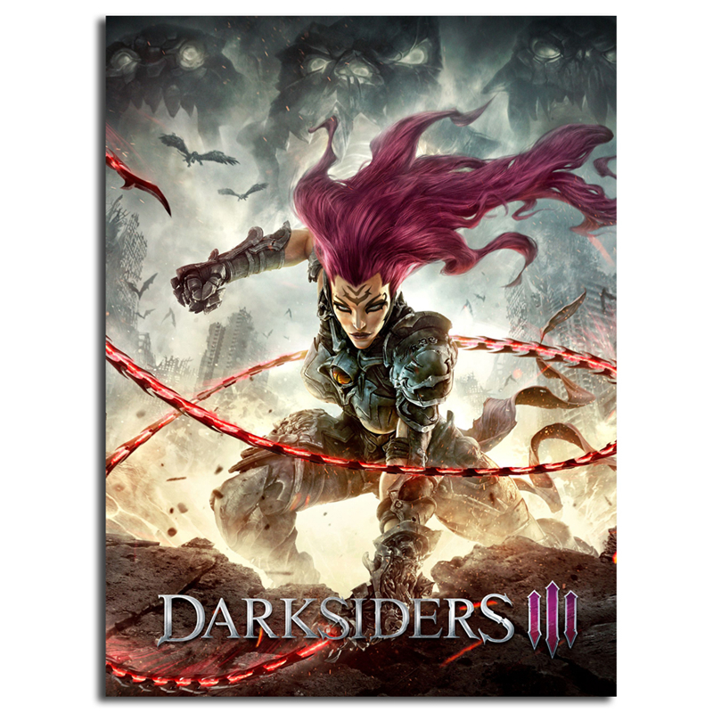 Us 57 5 Offgame Darksiders 3 Wallpaper Wall Art Canvas Poster And Print Canvas Painting Decorative Picture For Bedroom Home Decor Framework In