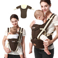New Born Baby Carriage Hipseat Sling Wrap Summer and Winter Multifunction Outdoor Kangaroo Baby Carrier Sling Backpack