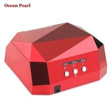 OCEAN PEARL 36W UV Lamp Nail Dryer LED Nails Lamp Diamond Shaped CCFL Curing for UV Gel Nail Polish Nail Art-1006B