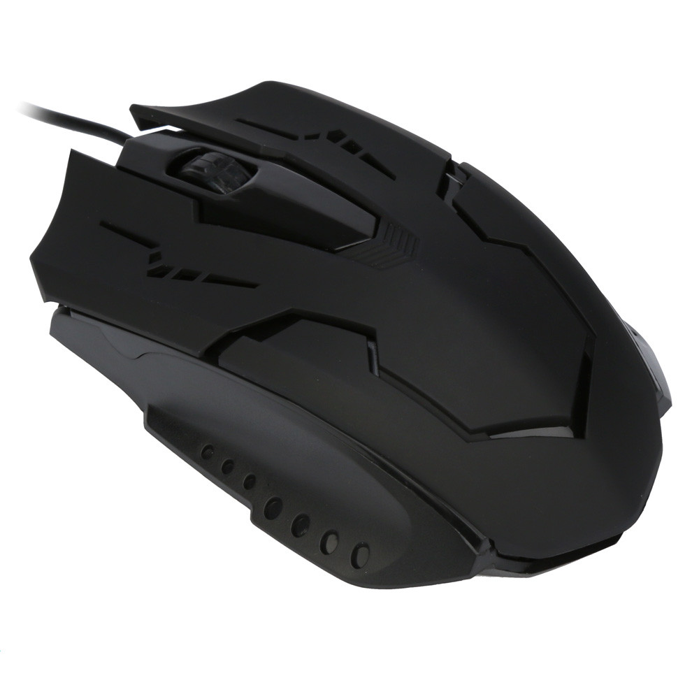For PC Laptop 1200 DPI USB Wired Optical Gaming Mice Mouses Convenience 17Aug31