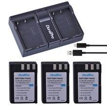 Batterie Li-ion Rechargeable avec double chargeur USB, 3x1800mAh, EN-EL9 EN EL9 EN-EL9a, pour appareil photo Nikon D40 D40X D60 D3000 D5000
