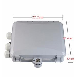 Image 1 - high quality 8 Core outdoor Fiber Optic Terminal Box 8 port Fiber Optic Distribution Box Fiber optic cable tray