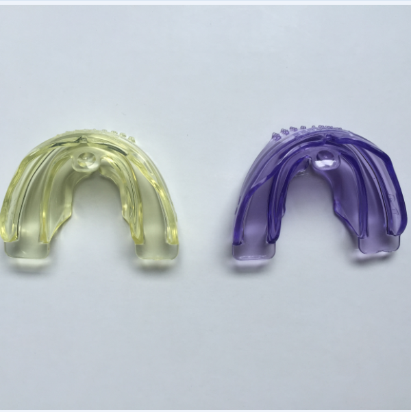 Hot Selling Professional Dental Tooth Teeth Orthodontic Appliance Trainer MRC Adult Using A2 yellow and purple