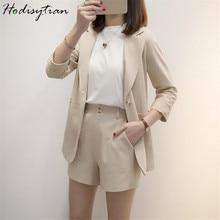 Hodisytian Ins Fashion Women Blazer Suits