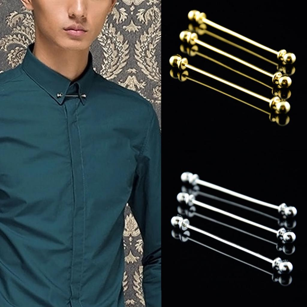 LooPoP Men Tie Clip Power Switch Stainless Tie Pins for Business Wedding Shirts Tie Clips Include Gift Box