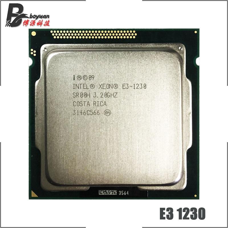 Intel Xeon E3-1230 Quad Core 3.2GHz 8MB CPU PROCESSOR LGA1155 SR00H