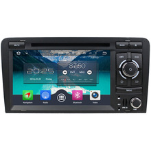 7″ Android 6.0 Octa Core 4GB RAM 32GB ROM 3G/4G WIFI Car DVD Multimedia Radio GPS Player For Audi A3 S3 2003 2004 2005 2006-2013