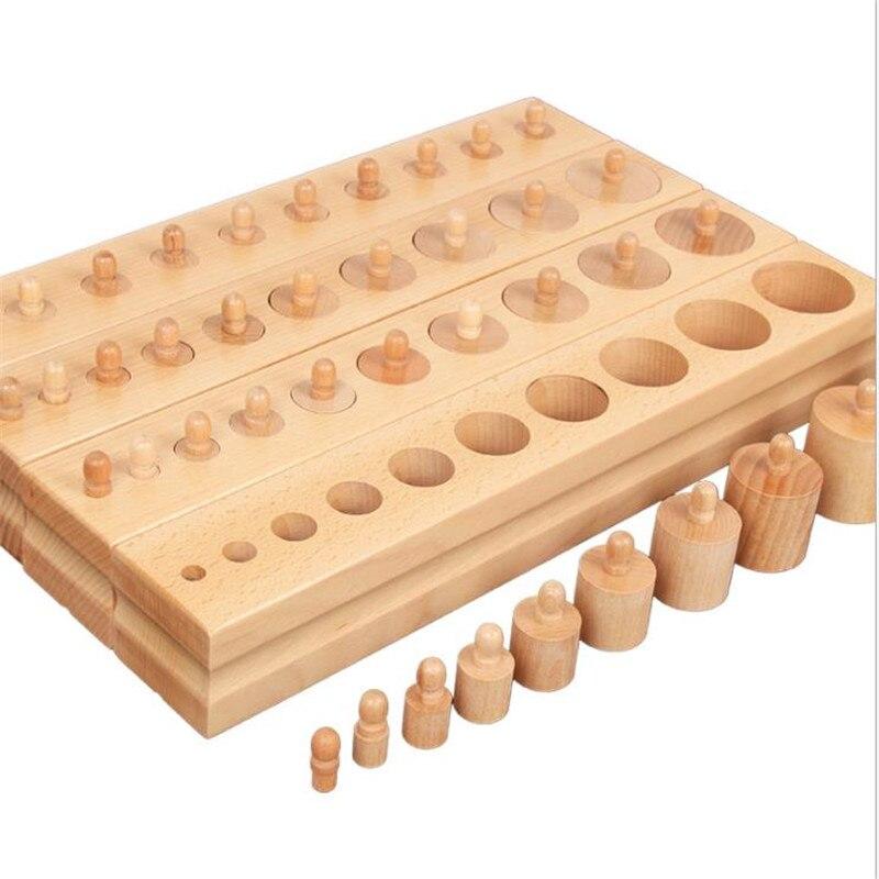 Montessori édition professionnelle cylindre de douille