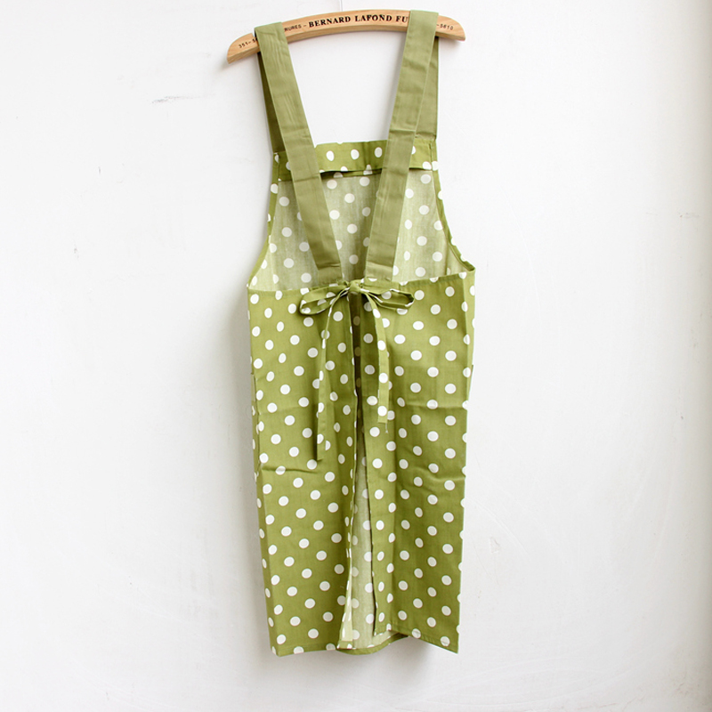 Perfect 1PC Kitchen Apron For Women Jap Style Green Natural Simple Design Free  Shipping In Aprons From Home U0026 Garden On Aliexpress.com | Alibaba Group Part 29
