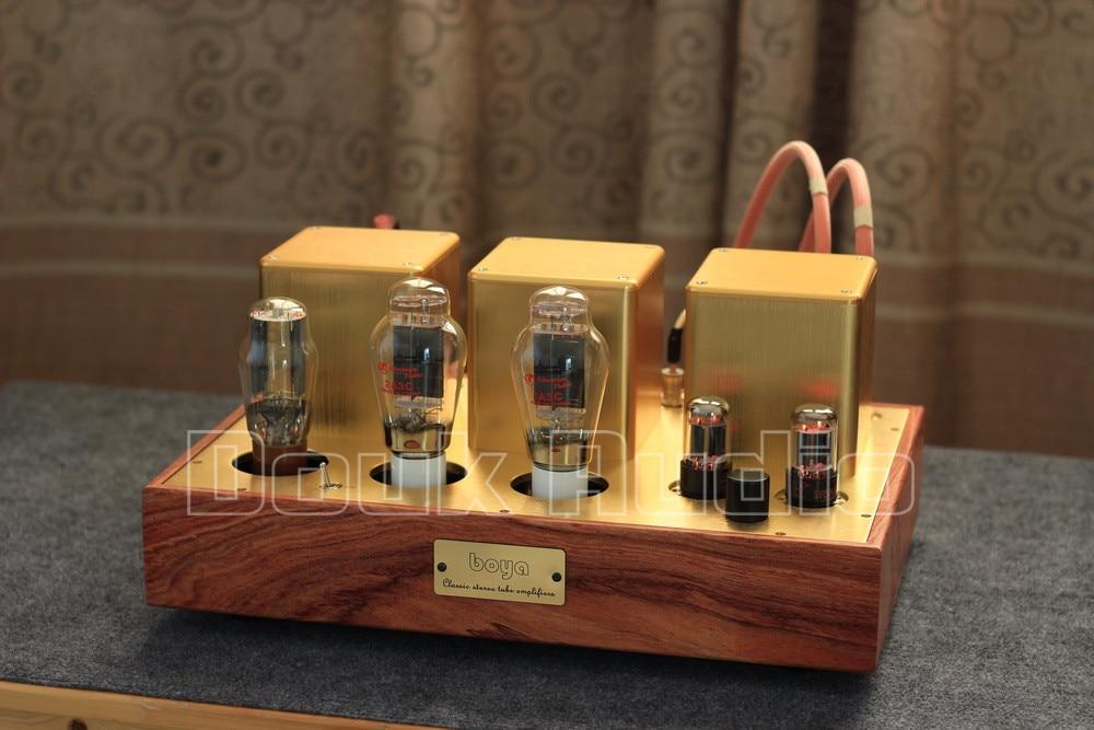 Salão de música Mais Recente Pure Handmade High-end Personalizado Tubo 2A3 Amplificador Estéreo de Alta Fidelidade de Áudio Single-ended Amplificador Integrado