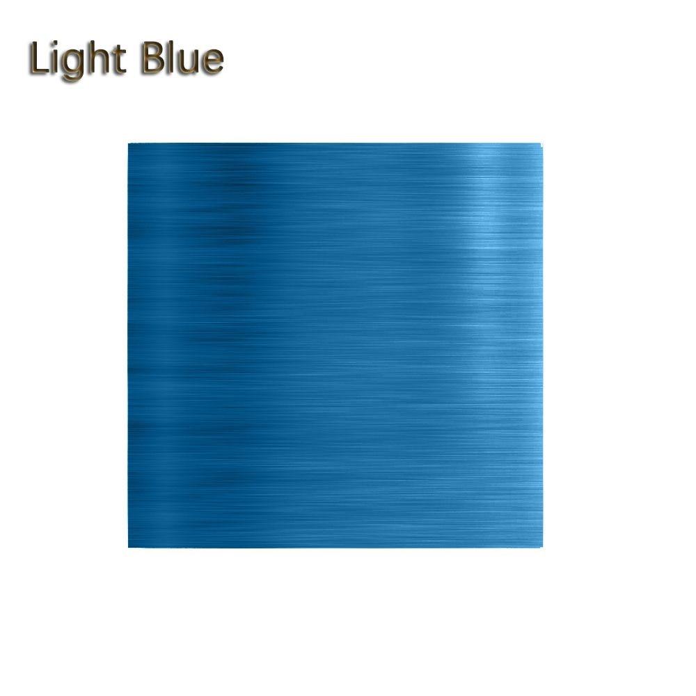 """100 шт./компл. 3,1"""" x 3,15"""" Мути-цвет 8011 еда алюминиевая фольга DIY шоколадные конфеты пакет бумаги 10 цветов - Цвет: Синий"""