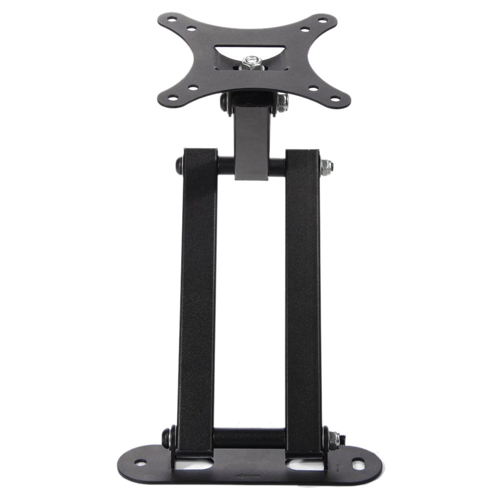 <font><b>Wall</b></font> Mount with Tilt and Swivel Functions for LCD/LED/TV/DVD/Combo/<font><b>Blu-Ray</b></font> Flat-Panel Monitors/Screens Fits 12-Inch to 24-Inch