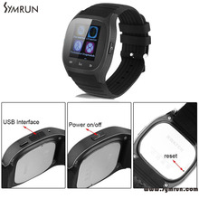 Symrun Smart Uhr Android Für Iphone 4 S/5/5 S/6 Samsung S4 Handys Bluetooth Smartwatch M26 M26 Bluetooth 4,0