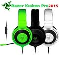 [Genuine] Original Mais Novo Razer Kraken Pro 2015 Profissional Gaming Fone De Ouvido Baixo Forte Isolamento de Som Fone De Ouvido Com Microfone