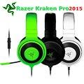 [Original] Original Más Nuevo Razer Kraken Pro 2015 Aislamiento de Sonido Bajo Fuerte Auriculares Con Micrófono Auriculares Para Juegos Profesionales
