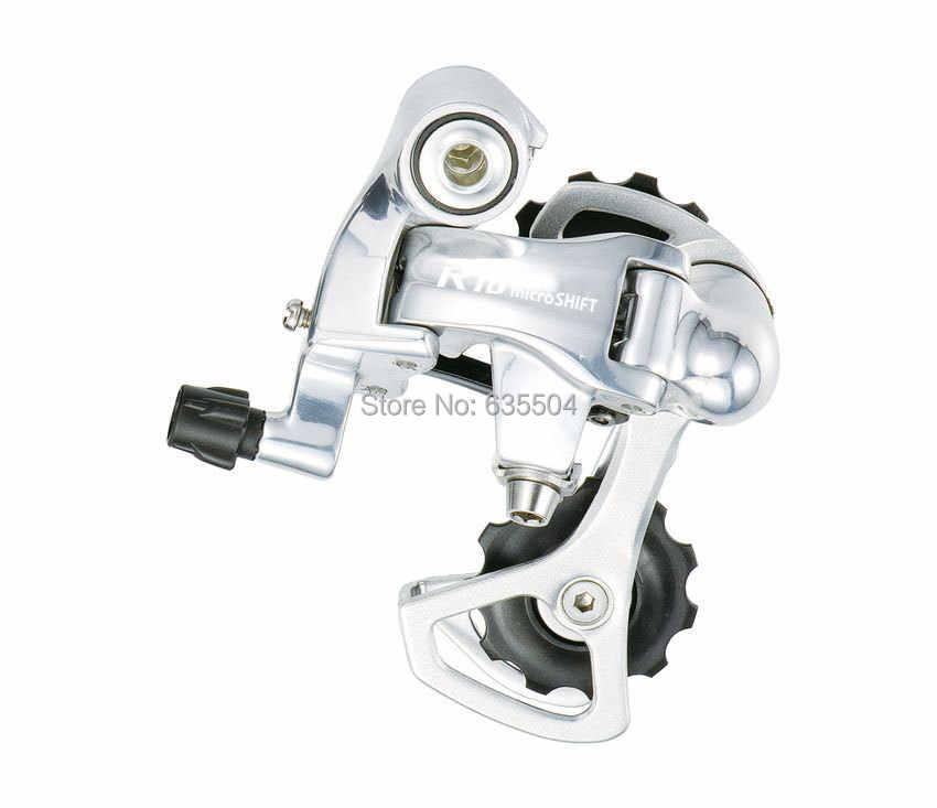 MicroSHIFT SB-R402K шифтеры (2X10 S) скорость двойной переключатель Группа Набор дорожный велосипед совместимый для Shimano