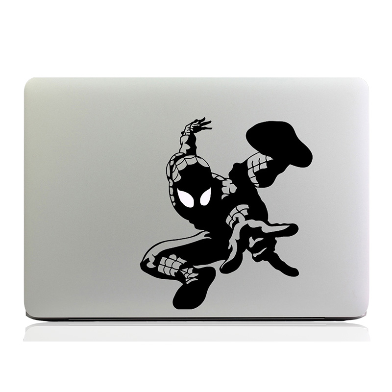 Cool Fashion Spider-Man Laptop Decal for Apple MacBook 11 12 13 15 Air Pro Retina Computer Skin Vinyl on Notebook Sticker
