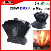 1 sztuk/partia hurtownie 220 W 3 strzał DMX ognia ogień płomień maszyna natryskowa ogień maszyna strzelać bezpiecznego użytkowania do imprez na świeżym powietrzu w Oświetlenie sceniczne od Lampy i oświetlenie na