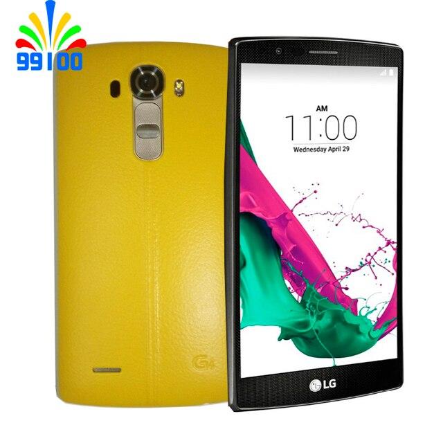Original Unlocked LG G4 H815 H810 H818 Hexa Core Android 51 3GB 32GB 55 Inch